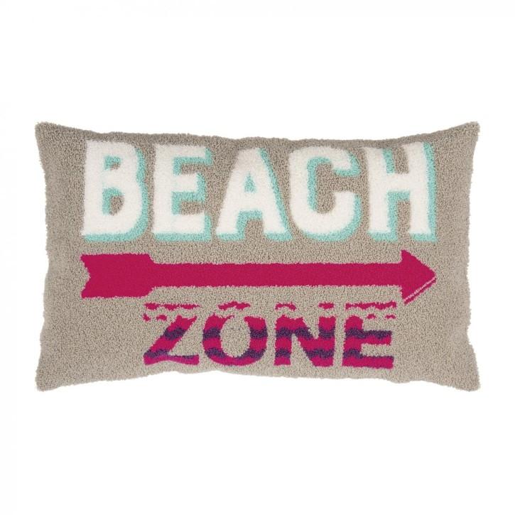 BEACH Kissenhülle 30x50, grey