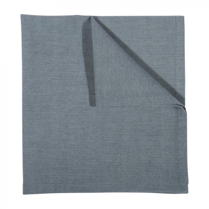 LEDA serviette 4er pack 45x45, blue