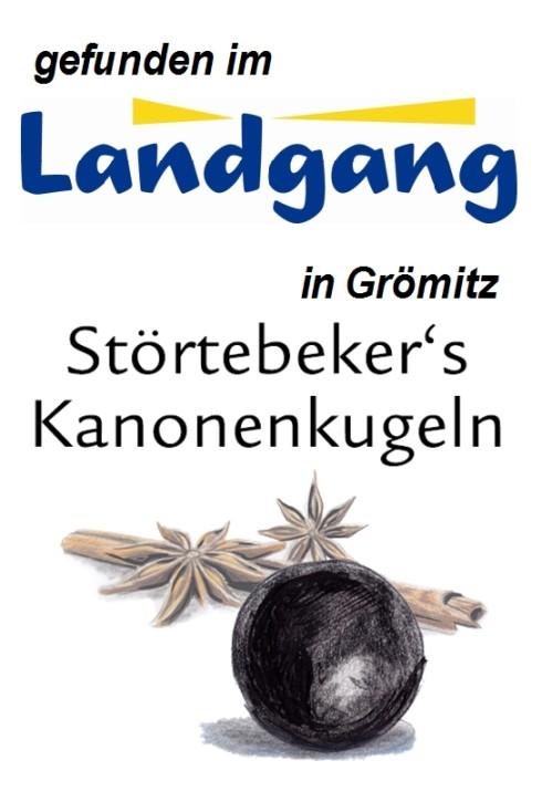 Landgang Grömitz - Störtebeker's Kanonenkugeln