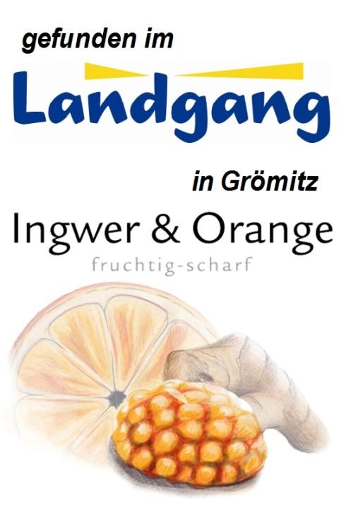 Ingwer & Orange 125g