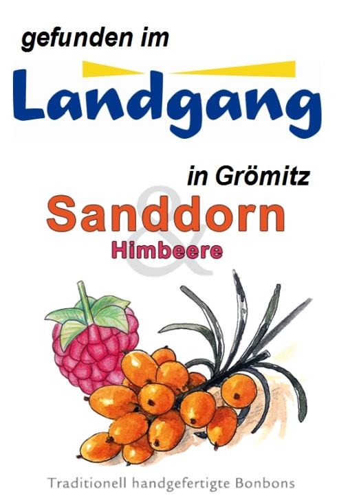 Landgang Grömitz - Sanddorn Himbeere