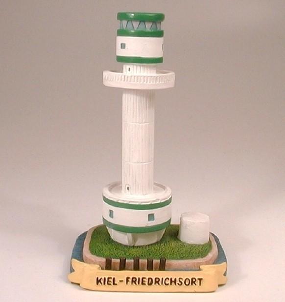 Leuchtturm Friedrichsort 10 cm 6,4x5,3x10,2cm
