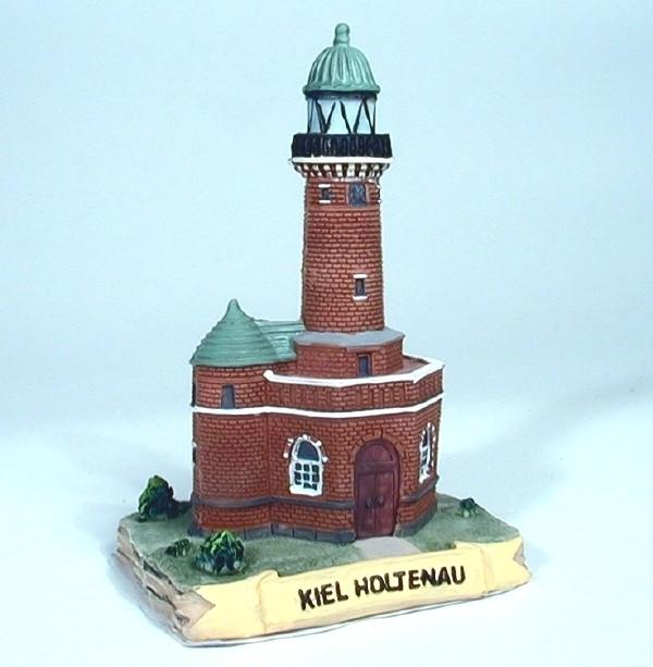 Leuchtturm Holtenau 10 cm 7x6,4x10,3cm