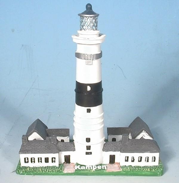 Leuchtturm Kampen 8 cm 7,7x4,4x8,3 cm
