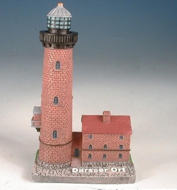 Leuchtturm Darsser Ort 8cm, 4,8x3x8,4cm