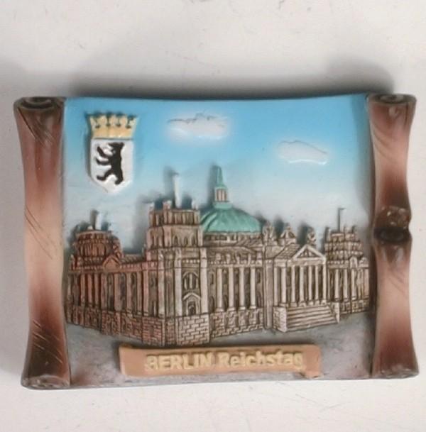 Magnet Berlin Reichstag 7,5x5,3x1,4 cm