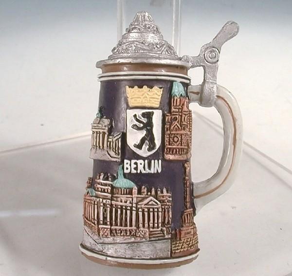 Magnet Bierkrug Berlin 4x1,7x6 cm