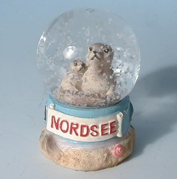 Schneekugel Seehund Nordsee 45mm