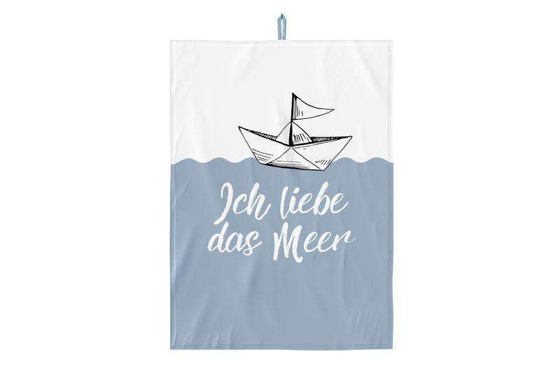 Geschirrtuch 50x70 Liebe Meer