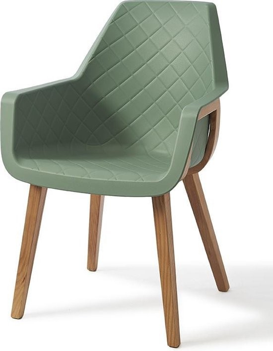 Amsterdam City Dining Armchair Soft Green