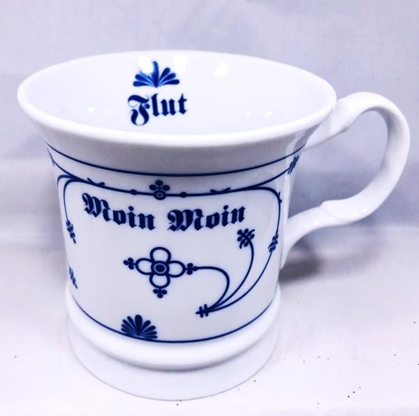 Herrenbecher Moin Moin - Indisch Blau Porzellan