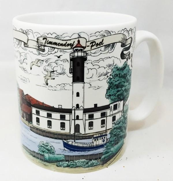 Becher Leuchtturm Timmendorf Insel Poel