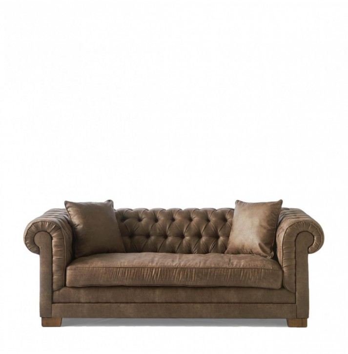 Crescent Avenue Sofa 2 Seater Pel Coffee