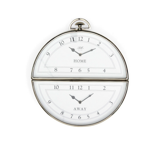 Riviera Maison Brooklyn Double Wall Clock