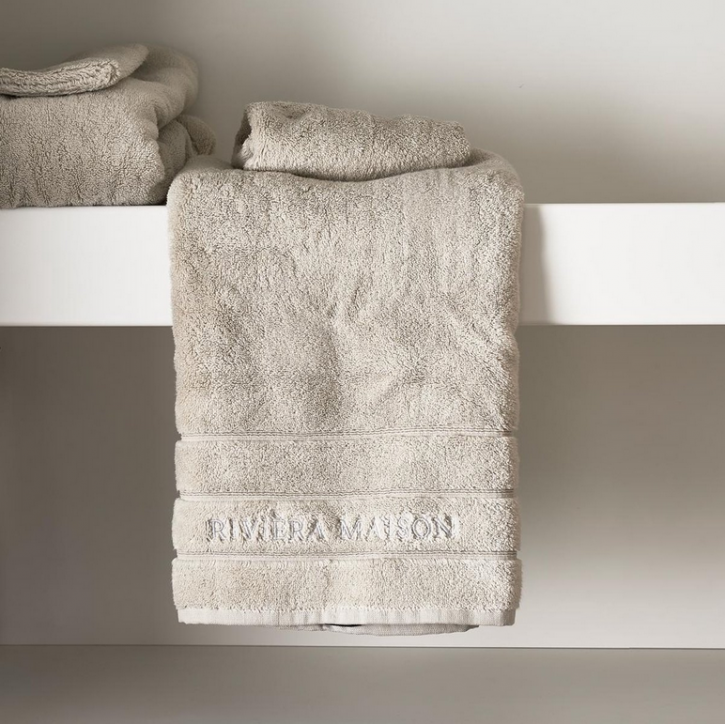Riviera Maison Hotel Towel stone 100x50