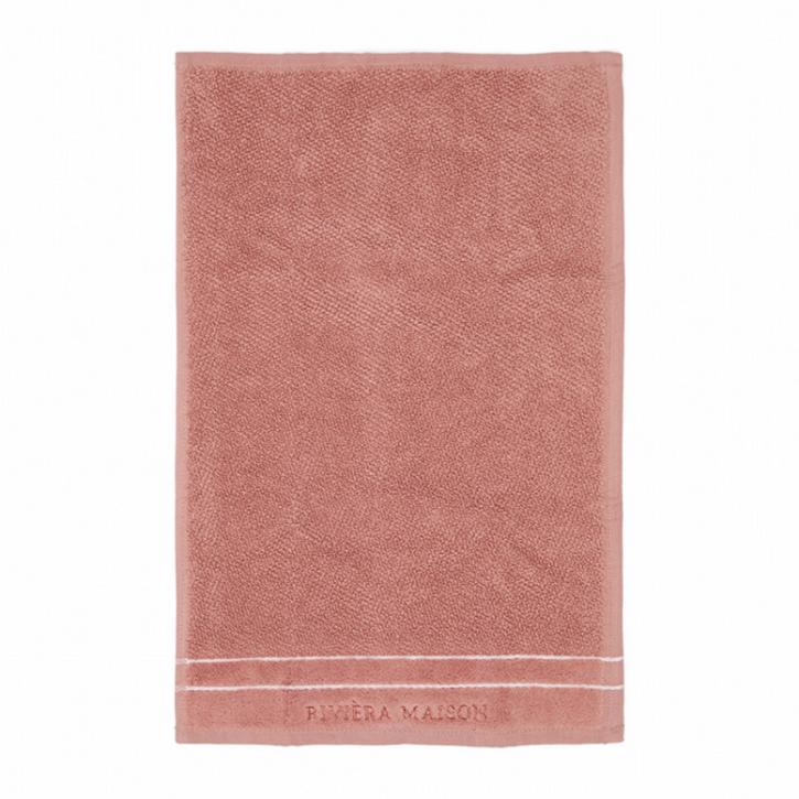 Riviera Maison Elegant Guest Towel plum 50x30