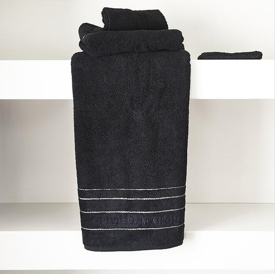 Riviera Maison Elegant Towel black 140x70