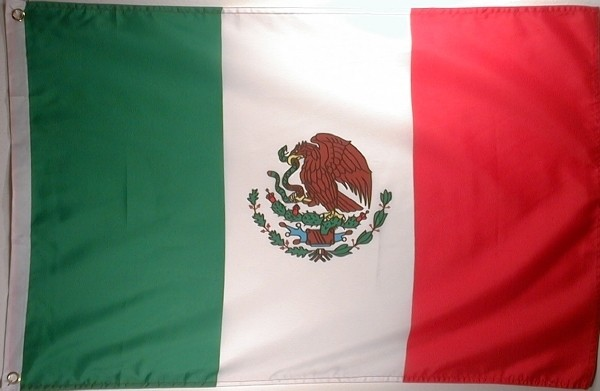 Flagge MEXICO 60x90cm