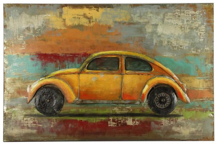 Gemälde VW rec Retraw mehrfarbig