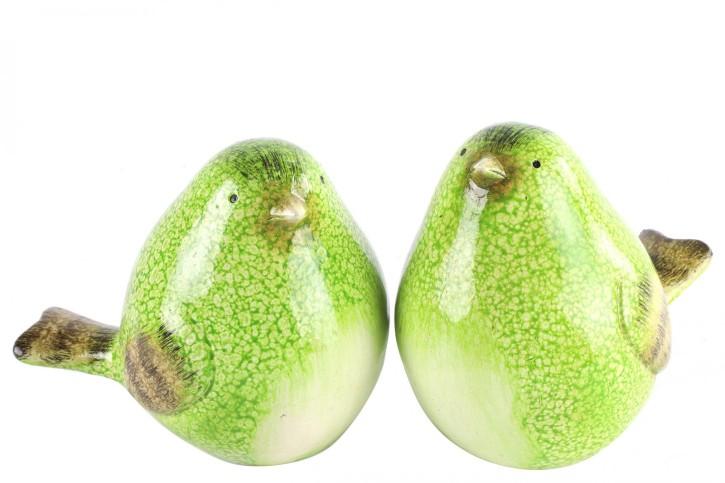 2er Setcm Vogel Tweety L  grün