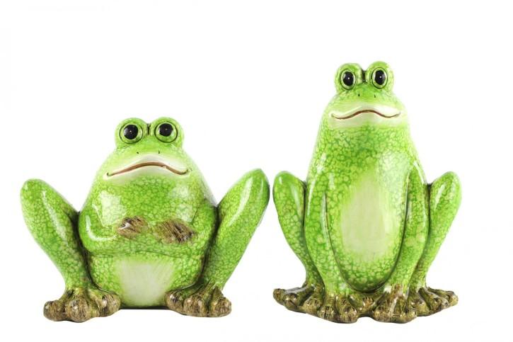 2er Setcm Frosch Plons M  grün