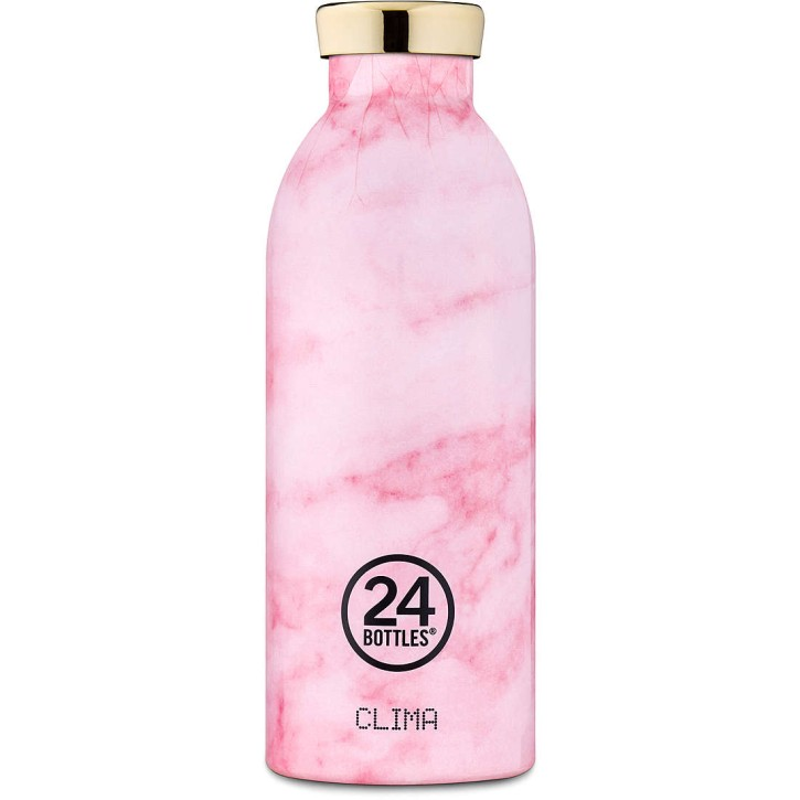 Clima Bottle MARBLE PINK  500ml