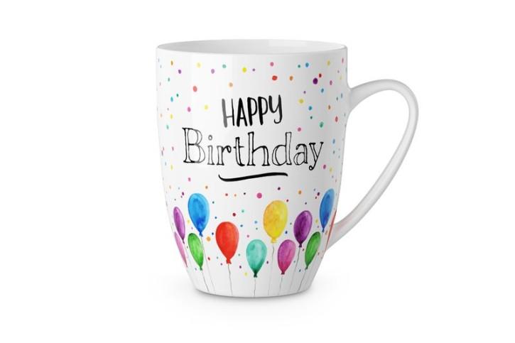 Becher 250ml Happy Birthday