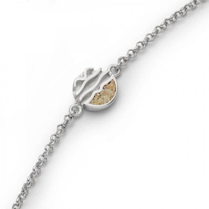Armband  Ebbe und Flut 16,5+1+1cm