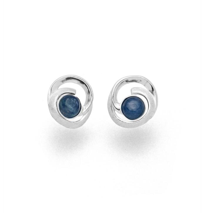 Ohrring Windbraut - Blau