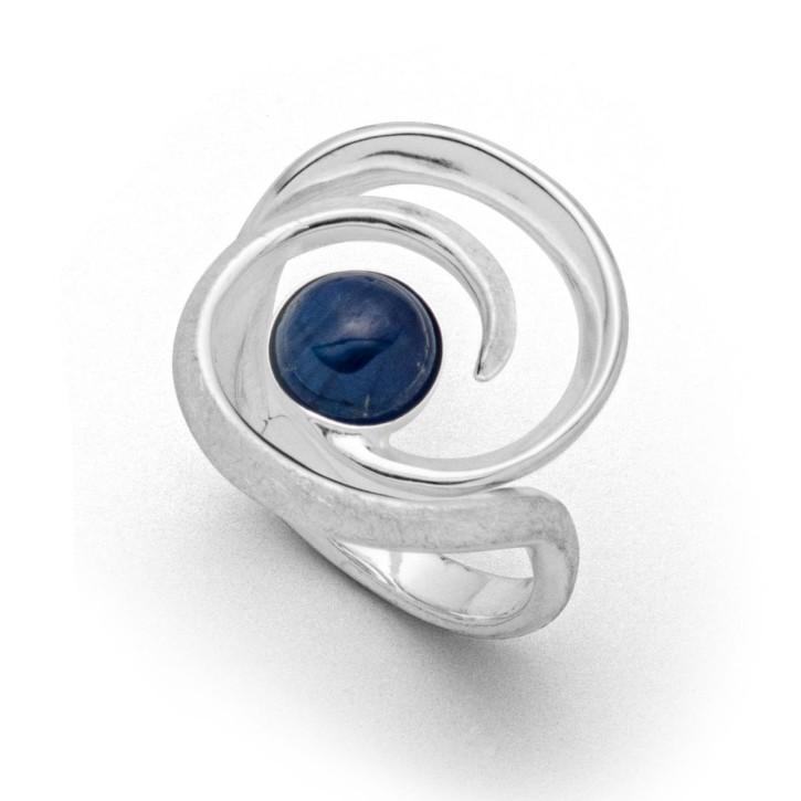 Ring Windbraut - Blau
